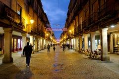 埃纳雷斯堡,马德里,西班牙2016年12月5日:市长st 库存照片
