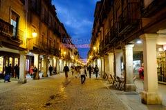 埃纳雷斯堡,马德里,西班牙2016年12月5日:市长st 图库摄影