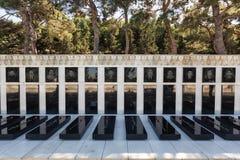 埃罗斯坟茔在巴库,阿塞拜疆 免版税库存图片