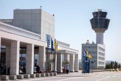 埃莱夫塞里奥斯・韦尼泽洛斯机场 库存图片