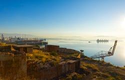 埃莱夫西纳海湾, Attica -希腊 免版税库存图片