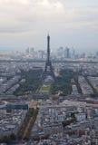 埃菲尔・俯视巴黎浏览的法国 免版税图库摄影