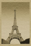 埃菲尔・巴黎tower 免版税图库摄影