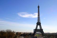 埃菲尔・法国巴黎塔 免版税库存照片