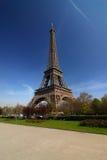 埃菲尔・巴黎浏览 免版税图库摄影