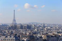 埃菲尔在巴黎 免版税库存照片