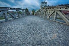 埃菲尔桥梁 库存照片