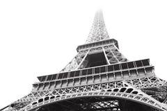 埃菲尔灰度的塔 库存照片