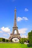 埃菲尔著名法国巴黎塔 免版税库存照片