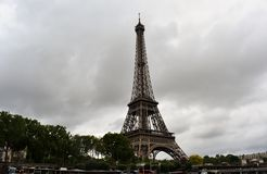 埃菲尔铁塔@Paris法国 图库摄影