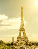 埃菲尔・巴黎地平线塔 库存图片