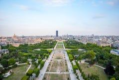 埃菲尔・巴黎地平线塔 库存照片