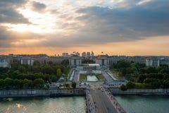 埃菲尔・巴黎地平线塔 免版税库存照片