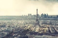 埃菲尔・巴黎地平线塔 免版税图库摄影