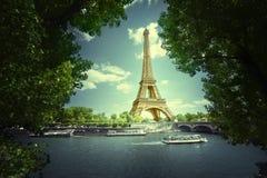 埃菲尔・巴黎塔 法国 免版税库存图片