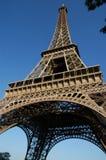 埃菲尔la巴黎浏览 免版税库存照片