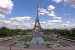 埃菲尔la巴黎浏览 库存照片