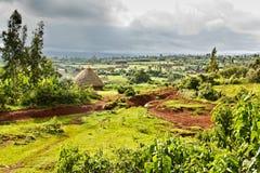 埃赛俄比亚的农村横向 图库摄影