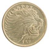 埃赛俄比亚的分硬币 库存图片