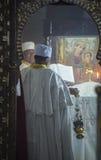 埃赛俄比亚的基督徒 库存图片