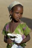 埃赛俄比亚的女孩 免版税图库摄影