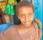 埃赛俄比亚的女孩 库存照片