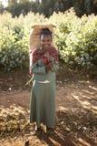 埃赛俄比亚的女孩 免版税库存照片
