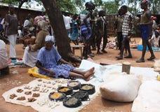 埃赛俄比亚的市场 库存照片