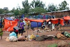埃赛俄比亚的市场 免版税图库摄影