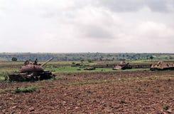 埃赛俄比亚的战争 免版税库存图片