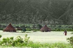埃赛俄比亚的房子 免版税库存图片