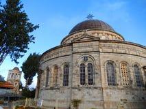 埃赛俄比亚的教会,耶路撒冷,以色列 免版税库存图片