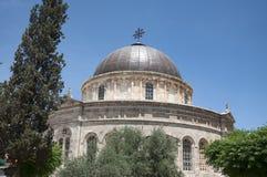 埃赛俄比亚的教会,耶路撒冷 图库摄影