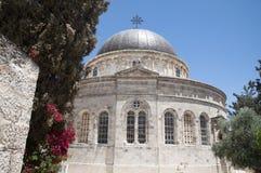 埃赛俄比亚的教会,耶路撒冷 免版税图库摄影
