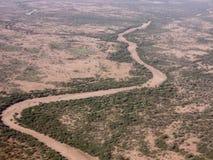埃赛俄比亚的沙漠 免版税库存图片