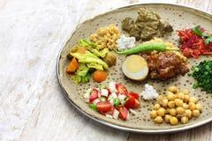 埃赛俄比亚的烹调 库存图片