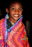 埃赛俄比亚的男孩 免版税库存照片