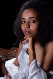 埃赛俄比亚的礼服 库存照片