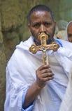 埃赛俄比亚的耶稣受难节 图库摄影