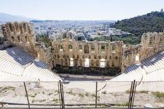 160 174埃迪克BC建立了herodes odeon 免版税库存照片
