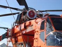 埃里克森空气起重机涡轮直升机 免版税图库摄影