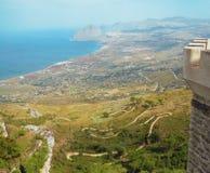 埃里切西西里岛 免版税库存图片