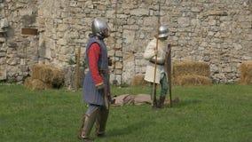 埋伏卫兵城堡 影视素材