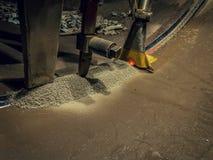 埋弧焊接 免版税库存图片