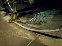埋弧焊接 库存照片