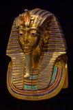 埋葬屏蔽s tutankhamun 免版税库存照片