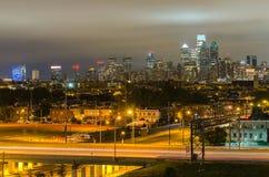 费城地平线 库存照片