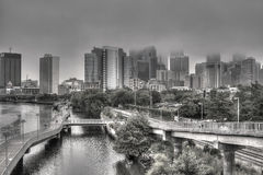 费城地平线 图库摄影