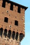 城垛城堡 免版税库存照片