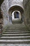 城堡上升 免版税库存照片